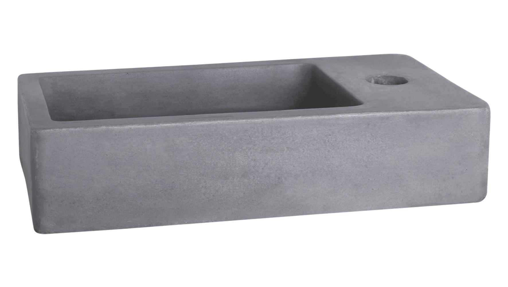 force fontein beton donkergrijs