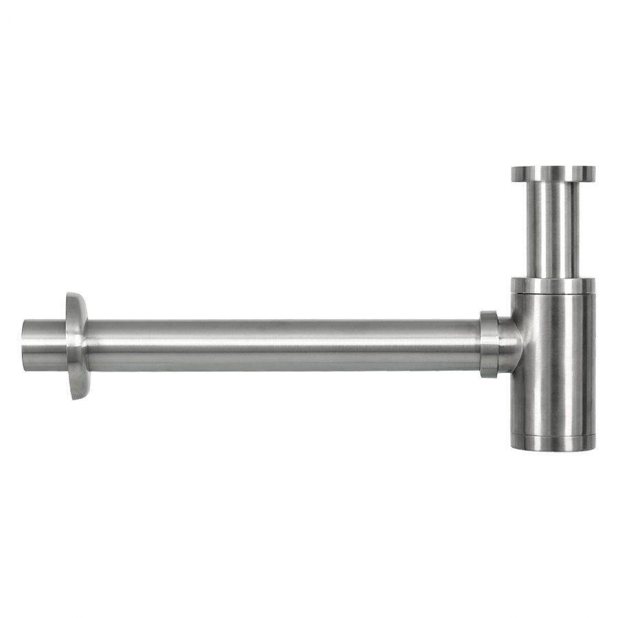 Ravo fonteinset - Beton lichtgrijs - Kraan gebogen mat chroom