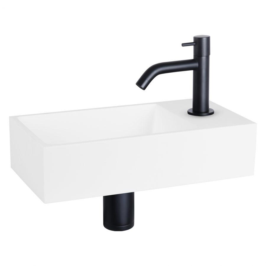 solid-fonteinset-solid-surface-kraan-gebogen-mat-zwart