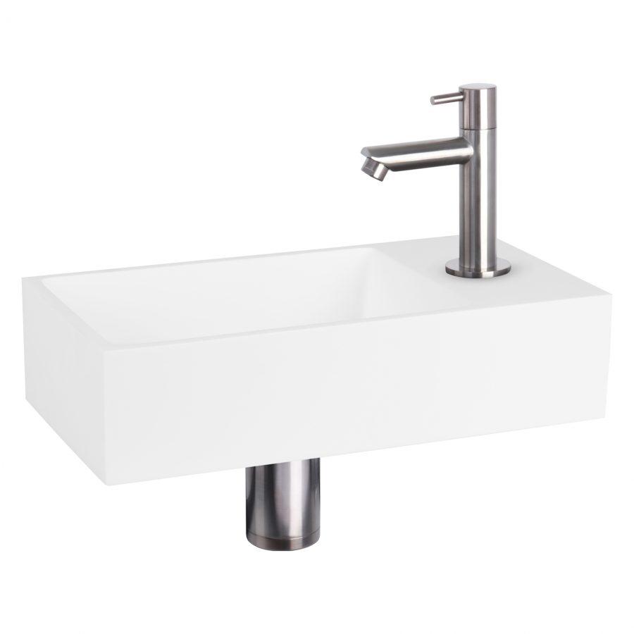 solid-fonteinset-solid-surface-kraan-recht-mat-chroom