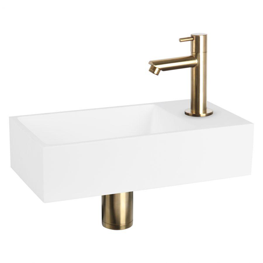 solid-fonteinset-solid-surface-kraan-recht-mat-goud
