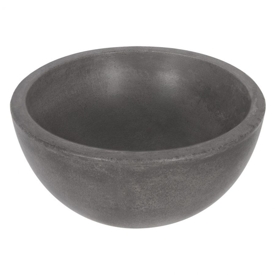 ruz-waskom-beton-donkergrijs-rond