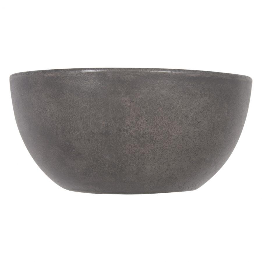 Ruz - Waskom beton donkergrijs - Rond
