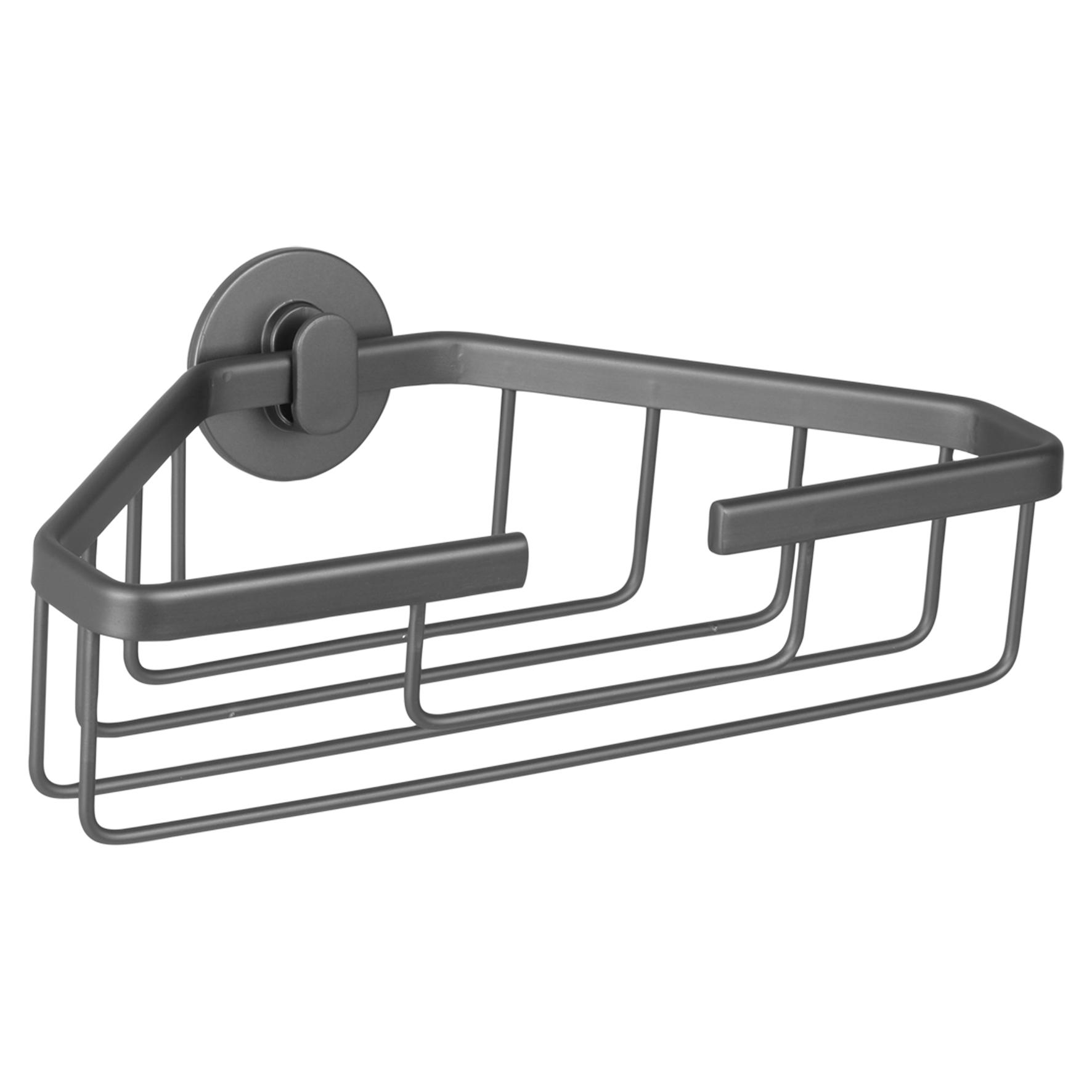 Differnz draadmand - driehoek - aluminium - gun metal