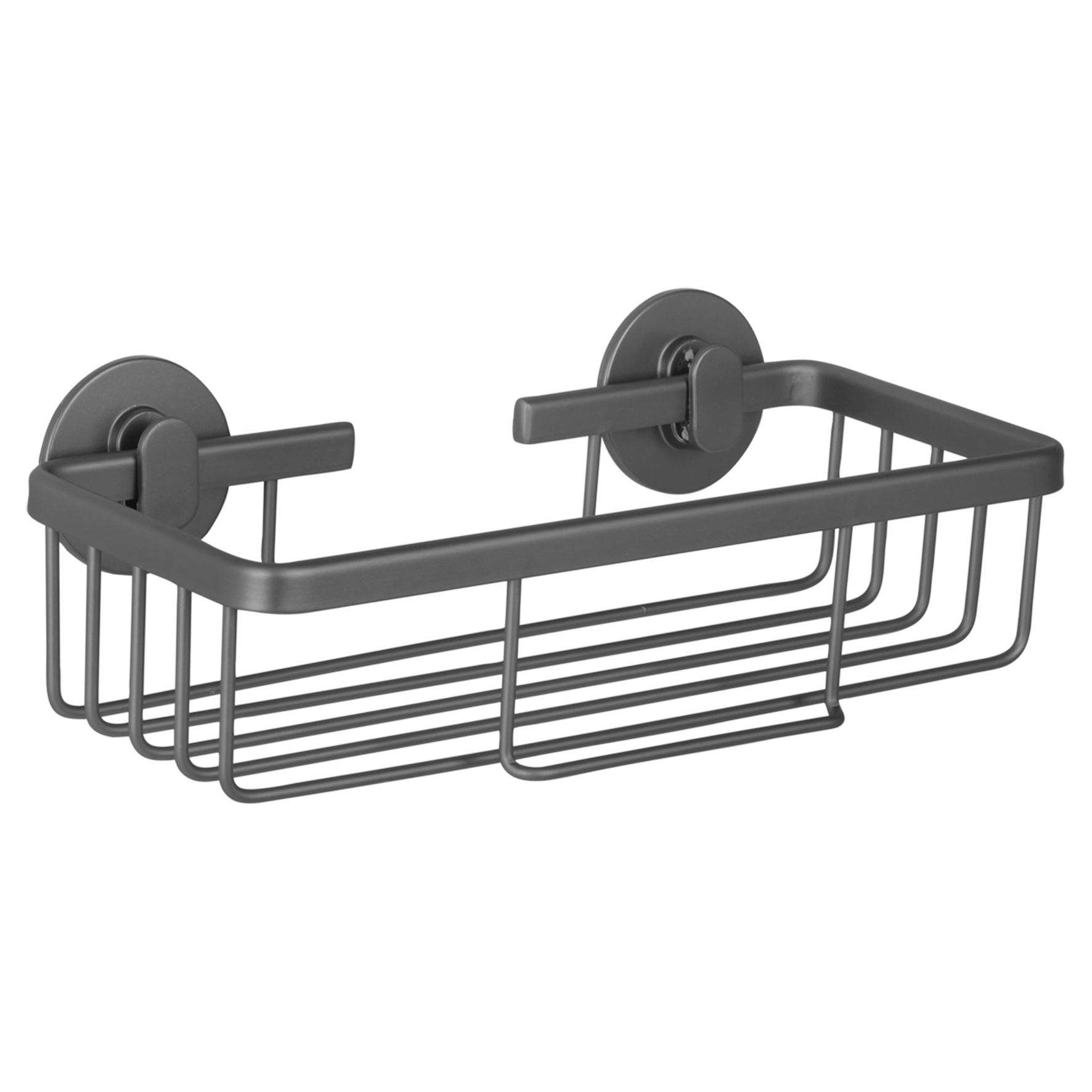 Differnz draadmand - rechthoek - aluminium - gun metal